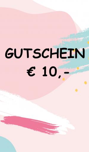Gutschein € 10,-